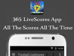 365 LiveScores Football 1.02 Screenshot