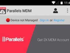 Parallels 2X MDM 8.1.817 Screenshot