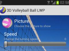 3D Ball Volleyball LWP 1.00 Screenshot