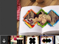 3D Book Photo Frame - Amazing Picture Frames & Photo Editor 1.0.0 Screenshot
