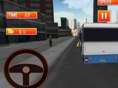 3D Bus Driver Simulator. Real Transport Simulator 1.0 Screenshot
