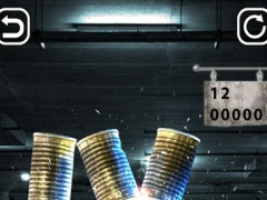 3D Can Knockdown: Tin Shooter 1.0 Screenshot