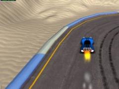 3D Cartoon Racing Pro 1.0 Screenshot