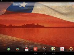 3D Chile Flag 3.1.4 Screenshot