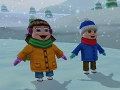 3D Christmas Screensaver 1.3 Screenshot