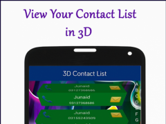 3D Contacts List 1.1 Screenshot