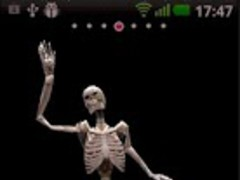 3D Dancing Skeleton LWP 1.1 Screenshot