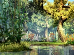 3D Fantasy River Screensaver 1.0 Screenshot