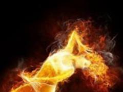 3D Fire Pic Background 6.0 Screenshot