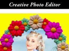 3D Flower Effects Photo Frame 1.2 Screenshot