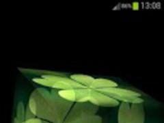 3D Four-Leaf Clover Wallpaper 1.30 Screenshot