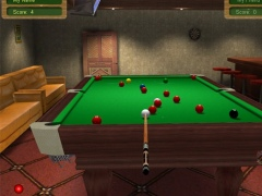 3D Live Snooker 2.72 Screenshot