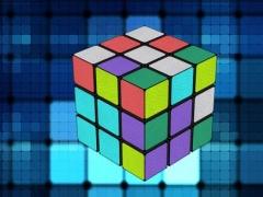 3D magic cube HD free 1.5 Screenshot