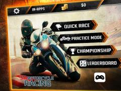 3D Motorcycle Racing Challenge 2.5 Screenshot