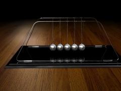 3D Newton Pendulum Screensaver 1.0 Screenshot