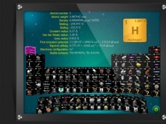 3D Periodic Table HD: Periodic Table, Moleculor Mass Cal And Units Conversion 1.0 Screenshot