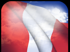 3D Peru Flag 3.2.1 Screenshot