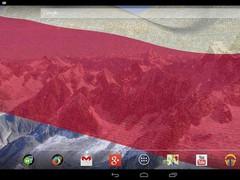 3D Poland Flag 3.1.4 Screenshot