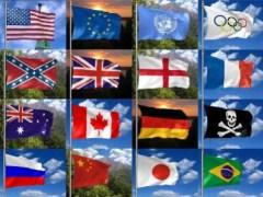 3D Realistic Flag Screensaver 2.31 Screenshot