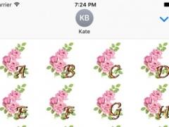 3D Rose Flower Stickers Pack For iMessage 1.0 Screenshot