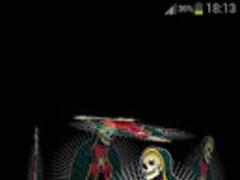 3D Santa Muerte Fondo Animado 1.3 Screenshot