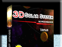 3D Solar System Screensaver 1.3 Screenshot
