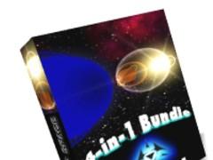 3D Space Screensavers 4-in-1 Bundle 1.1 Screenshot