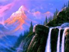 3D Waterfall HD wallpaper 1.01 Screenshot