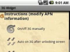 3G Auto OnOff 1.0.5 Screenshot