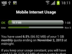 3G Watchdog - Data Usage  Screenshot