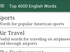 4000 American English Words 1.0 Screenshot