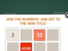 4096 - A Best Addictive Free Puzzle Game 1.0 Screenshot