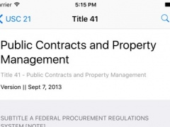 41 CFR - Public Contracts and Property Management (LawStack's Title 41 Code of Federal Regulations) 8.400.20160619 Screenshot