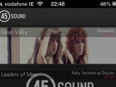 45sound 1.1 Screenshot