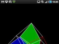 4D Hypercube Live Wallpaper 2.10 Screenshot