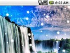 4D Waterfall Live Wallpaper 1.0 Screenshot