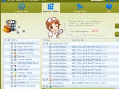 4Free Registry Cleaner 3.8 Screenshot