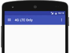4G LTE Only Mode Switch 3.0 Screenshot