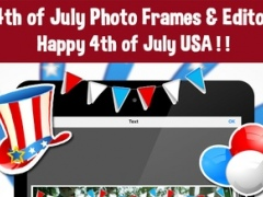 4th Of July - Independence Day Photo Frames Editor 2.0 Screenshot