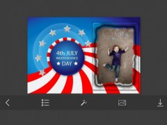 4th Of July Independence day USA - Happy Independence Day Of United State Of America Photo Frames & Greetings 1.0.0 Screenshot