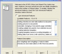 4TOPS Access to Excel Mail Merge XP/03 5.0 Screenshot