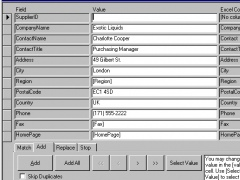 4TOPS Excel Import to MS Access 2010 6.0 Screenshot
