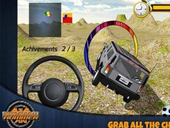 4x4 off road Rally Hummer SUV 1.1 Screenshot