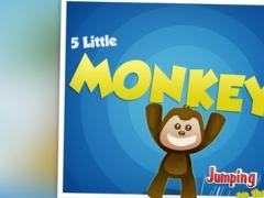 5 Little Monkeys Jumping On The Bed: TopIQ Story Book For Children in Preschool to Kindergarten 1.4.0 Screenshot