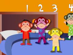 5 Little Monkeys Punjabi 1.0 Screenshot