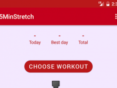 5-Minutes Stretch Workout 1.0 Screenshot