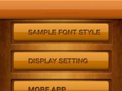50 Fonts for Samsung Galaxy 13 4.0 Screenshot