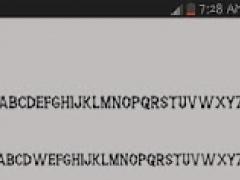 50 SamsungGalaxy Fonts 0.5 Screenshot