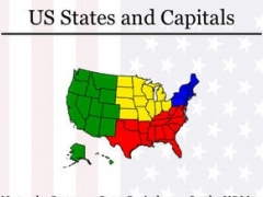 50 US States Map, Capital Cities and Free Download