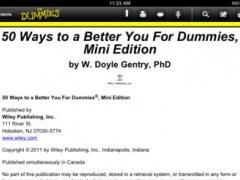 50 Ways to a Better You Guide 1.0 Screenshot